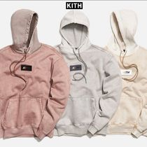【KITH】COLOR-BLOCKED CRYSTAL WASH WILLIAMS HOODIE