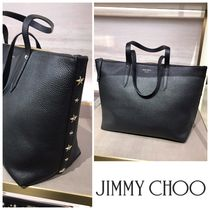 SALE!!【Jimmy Choo】BRIA TOTE Lサイズ♪GRAINY LEATHER♪BLACK