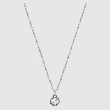 GUCCI ネックレス・チョーカー ☆関税込み☆GUCCI大人気Interlocking G pendant necklace♪(3)