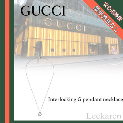 GUCCI ネックレス・チョーカー ☆関税込み☆GUCCI大人気Interlocking G pendant necklace♪