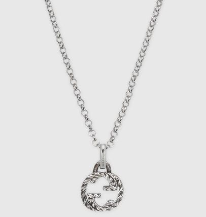 GUCCI ネックレス・チョーカー ☆関税込み☆GUCCI大人気Interlocking G pendant necklace♪(2)
