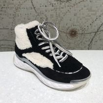 2019 CHANEL★SPORT TRAIL SHEARLING & LAMBSKIN BLEND SNEAKER