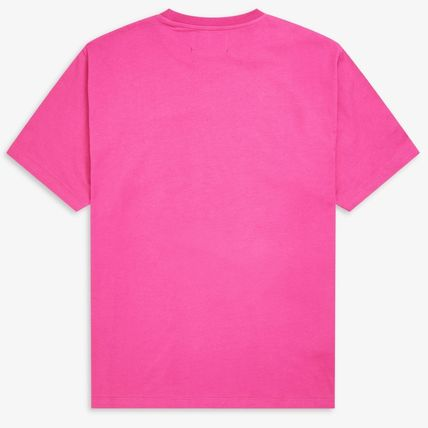 FRED PERRY Tシャツ・カットソー 【FRED PERRY】RAF SIMONS コラボ☆ プリント Tシャツ Pop Pink(3)