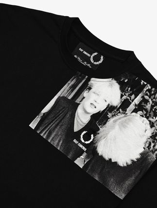 FRED PERRY Tシャツ・カットソー 【FRED PERRY】RAF SIMONS コラボ☆ ショルダープリント Tシャツ(4)