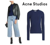 Acne Studios☆Carin ribbed merino wool-blend sweater