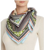 Tory Burch Homage to the Flower Silk Square Scarf