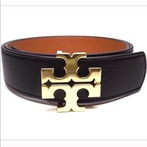 Tory Burch(トリーバーチ) Reversible Logo Belt Sz Small