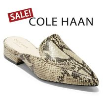 SALE【Cole Haan】Piper★スネーク柄パイパー ミュール