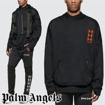 Palm Angels☆Under Armour x Palm Angels Loose Hoodie