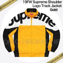 19FW /Supreme Shoulder Logo Track Jacket ショルダー ロゴ 黄