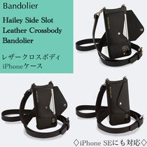 日本未入荷★BANDOLIER★Hailey Side Slot IPhone★レザーケース