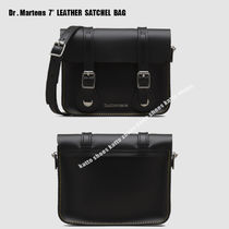 "Dr Martens★7"" LEATHER SATCHEL BAG★サッチェルバッグ"