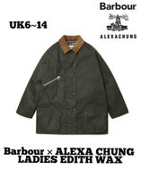数量限定 国内完売 Barbour ALEXA CHUNG LADIES EDITH WAX