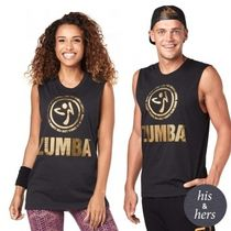 ZUMBA(ズンバ) フィットネストップス ◆9月新作◆Made With Zumba Love Muscle Tank-Bold Black