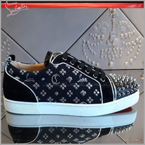 ◆Christian Louboutin 19AW◆Louis Junior◆ベロアスニーカー◆