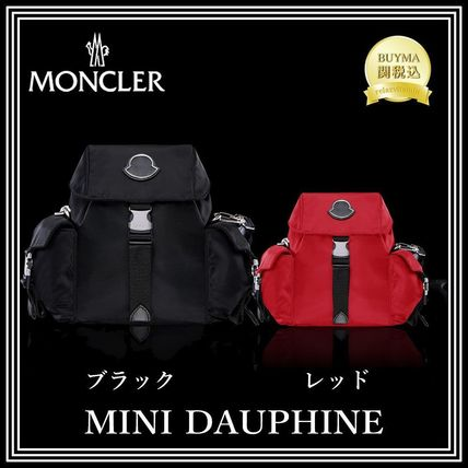 MONCLER バックパック・リュック 安心の直営店購入&関税込★モンクレール★MINI DAUPHINE