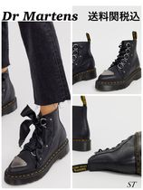 Dr Martens Farylle ribbon laceレザーブーツ黒 送関税込 日未入