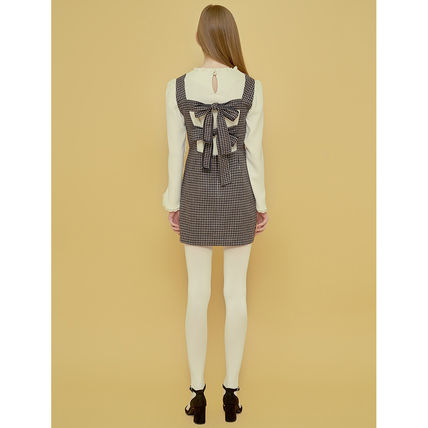 Margarin Fingers ワンピース ★Margarin Fingers★韓国 ワンピース DOUBLE RIBBON ONE PIECE(8)