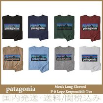 【セール/国内発送】Patagonia Men's Long-Sleeved P-6 Logo