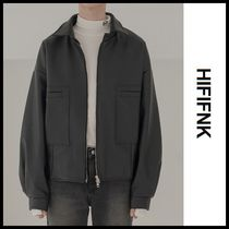 ☆HI FI FNK☆  (19 Fall) Artificial Leather Jacket