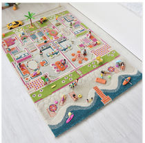 Children's 3D Play Rug - Beach House-100x150cm(送料・関税込)