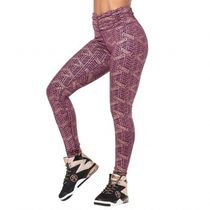 All That Glitters Is Zumba High Waisted Ruched Leggings Plum