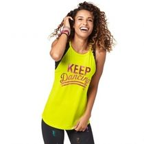 ★国内在庫★ ズンバ Zumba Keep Dancing Tank Zumba Green