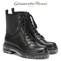 VERY10月イチオシ!★Gianvito Rossi★eather ankle boots