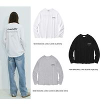 NEW BINAURAL LONG SLEEVE IA / ロゴロンT