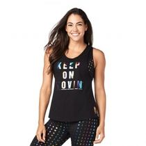 ★国内在庫 ズンバ Keep On Movin' Instructor Tank Bold Black