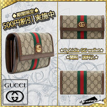 【GUCCI】★VIP/関送込/国内発★Ophidia GG continental wallet