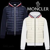Moncler 2019AW★袖ロゴ★★ダウンパネル付パーカー★関税送料込