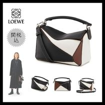 19AW《LOEWE》Puzzle Small Bag Black/Brunette