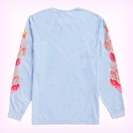 Taylor Swift Tシャツ・カットソー Taylor Swift ME 花柄ロンT 水色(2)