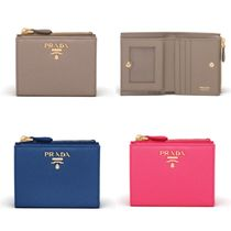 PRADA Saffiano leather wallet 1ML023_QWA