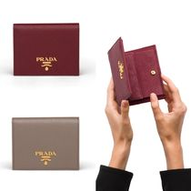 PRADA Small Saffiano leather wallet 1MV204_QWA