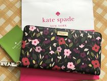 Kate Spade★Neda Laurel Way Boho Floral★可愛いお花柄長財布