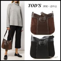 *TOD'S トッズ*Double T Hobo Hand Bag 関税/送料込
