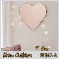 Urban Outfitters☆ピンクゴールドキュートなハート型ミラー