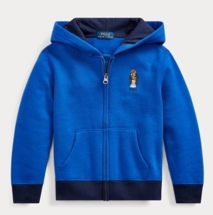 New Boys Ralph Lauren Cotton Fleece Hoodie 2T//2 Years