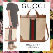 FW19☆vintage【GUCCI】GG キャンバス ショッピング バッグ