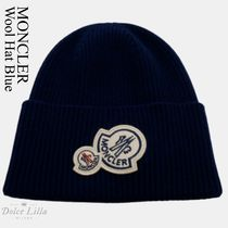 MONCLER Wool Hat Blue