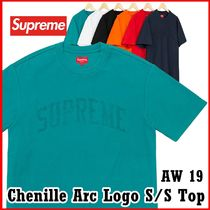 Supreme Chenille Arc Logo S/S Top AW 19 FW 19 WEEK 3