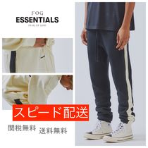 [FOG] ロゴ パンツ Fear Of God Essentials Side Stripe pants