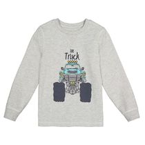 La Redoute★Cotton Printed Long-Sleeved T-Shirt 3-12A