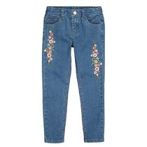 La Redoute★Embroidered Skinny Jeans 3-12A