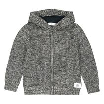 La Redoute★Zip-Up Hooded Cardigan 3-12A