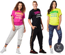 【'19/9/9☆新発売☆全3色】 Zumba Everywhere Tee