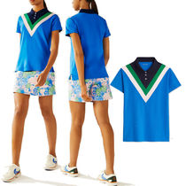 TORY SPORT(トリースポーツ) レディース・トップス 国内発送★TORY SPORT★PERFORMANCE PIQUE CHEVRON POLO