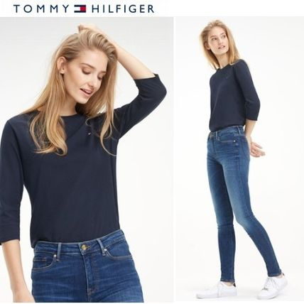 Tommy Hilfiger Tシャツ・カットソー Tommy Hilfiger ヘリテージ七分袖 Tシャツ♪